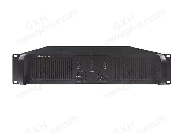 专业双通道功放GX-2L300/GX-2L500/GX-2L600/GX-3L800/GX-2L1000/GX-2L1300