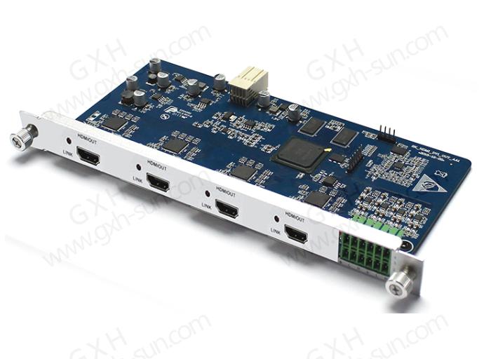 无缝HDMI输出板卡 GX-3204HC