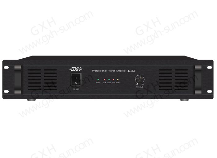 纯后级功放G-3360/G-3500/G-3650