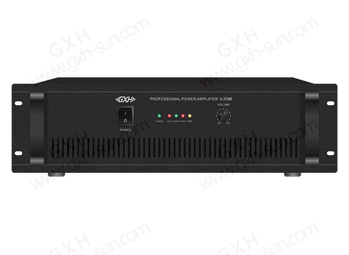 大功率纯后级功放G-31500/G-32000