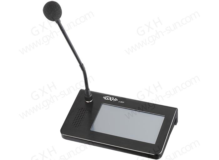网络触摸屏寻呼对讲话筒G-3802A