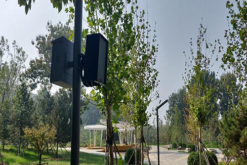 【GXH广播系统案例】北京大兴孙村公园