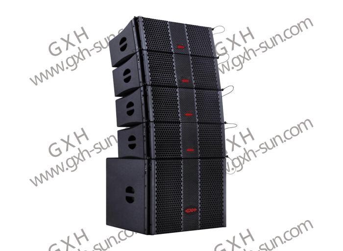 双8寸线阵全频音箱/单18寸线阵超低音箱GX-Q208/GX-Q208D